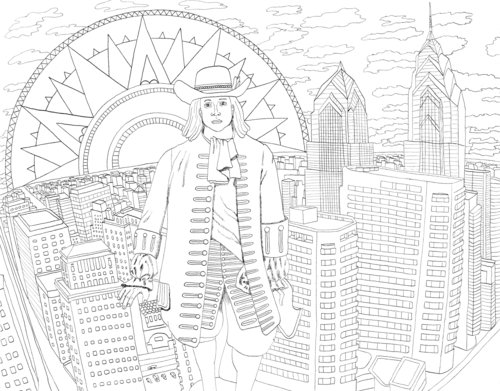 WonderPHL World Coloring Book — Philadelphia Independents