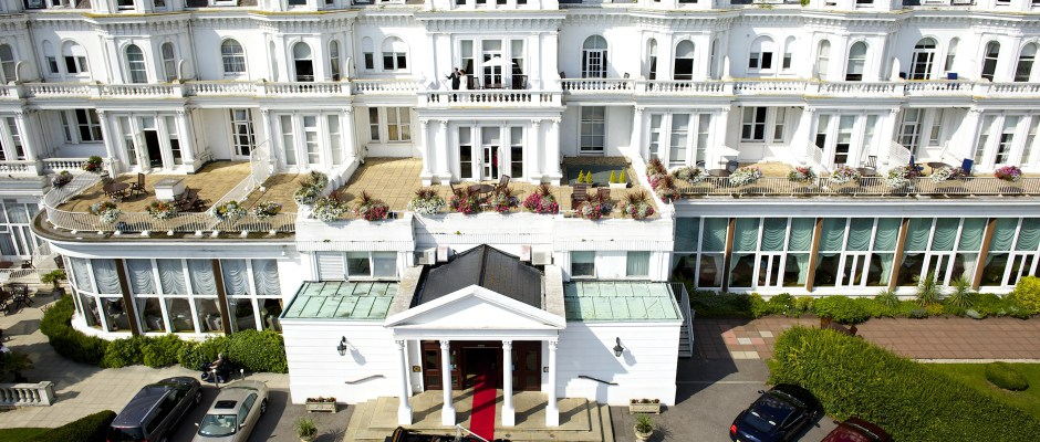 Grand Hotel in Eastbourne: Seafront Luxury With A Heart - 'Autumn is like the grand finale scene of a summer love story'. This I mused in the car, while drinking in the explosion of golden, amber and scarlet hues along the East Sussex coastline, quite smug that our wedding anniversary falls on just such a day...