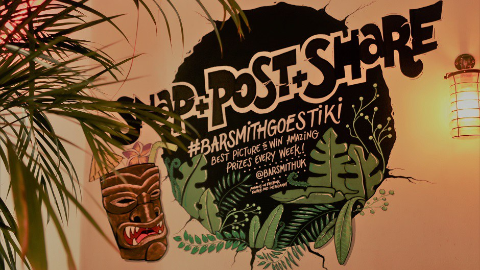 Farringdon's Barsmith Goes Tiki For The Summer - What do Hollywood, Zombie and London's Barsmith have in common this summer? One word: Tiki. Since 1930's the Hollywood's elite made 'Don The Beachcomber', a Polynesian-themed bar and restaurant in California their hotspot, the Tiki culture vibe was firmly established...