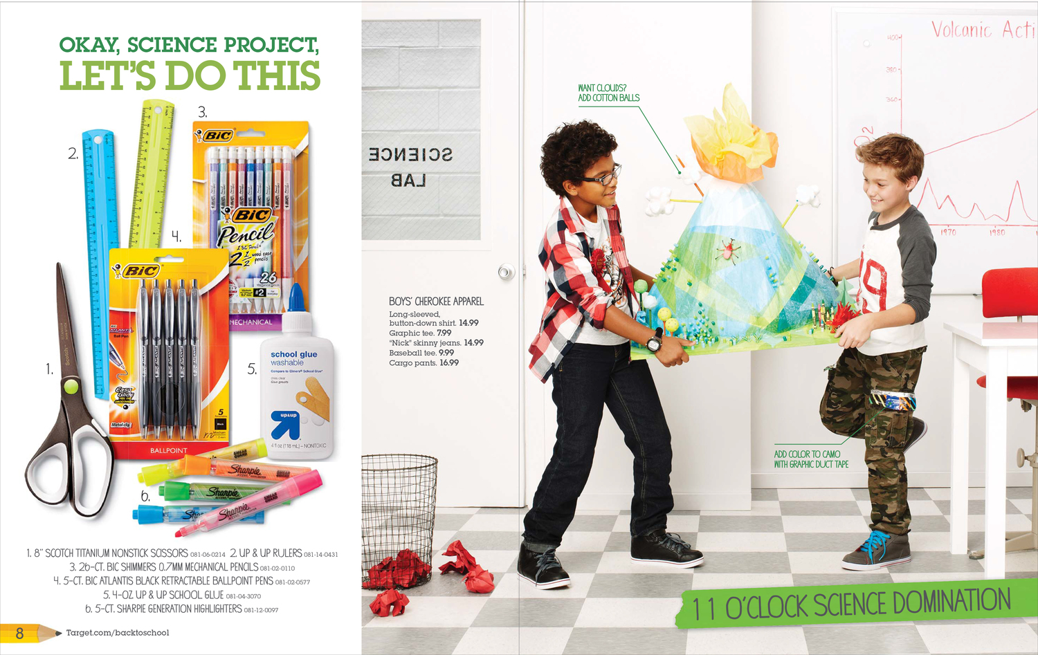 Target Back to School 2013 Catalog — Heather Bahr