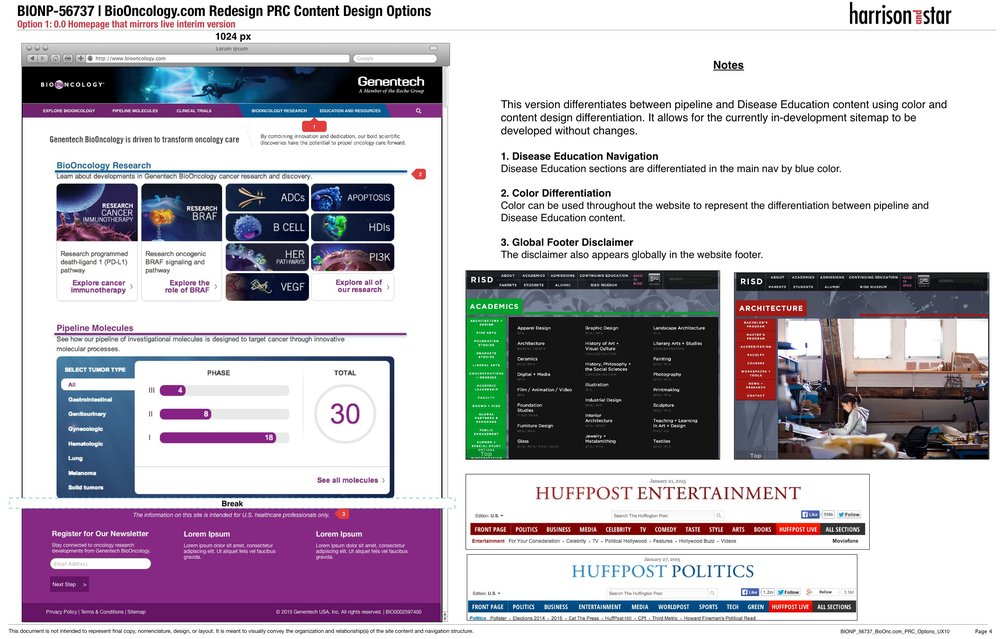 Option 1: 0.0 Homepage that mirrors live interim version .jpg