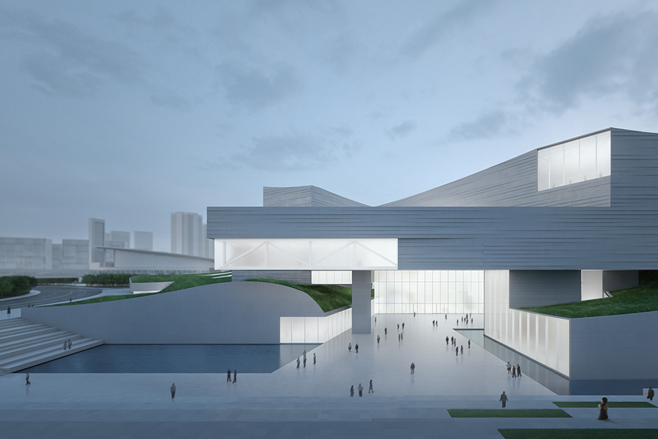 Shanghai Museum East Hall Competition, Shanghai China