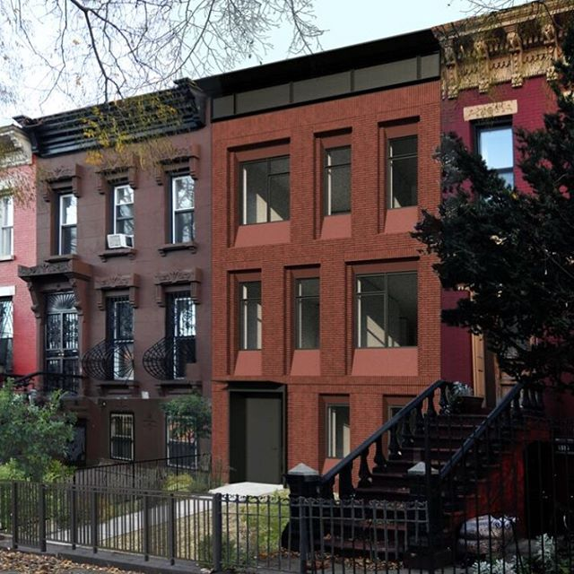This week we finally received landmarks approval for a new townhouse in Bedstuy Brooklyn. One step closer to construction!