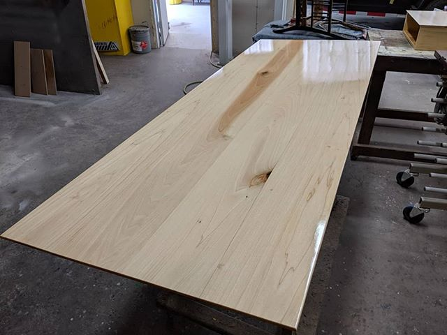 Got a newfound love for poplar after letting it sit in the sun and hitting it with some oxalic acid.