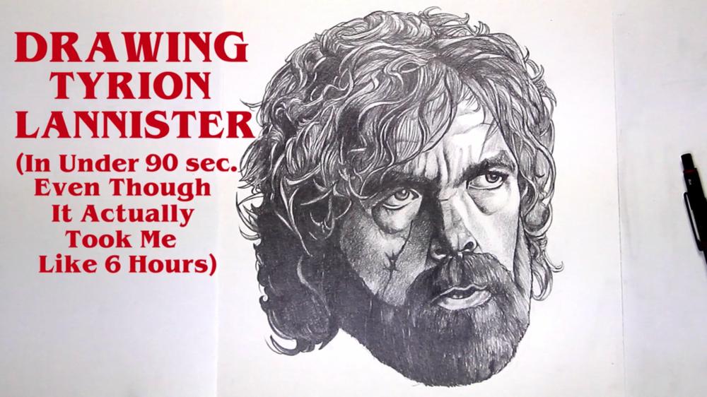 DRAWING TYRION LANNISTER