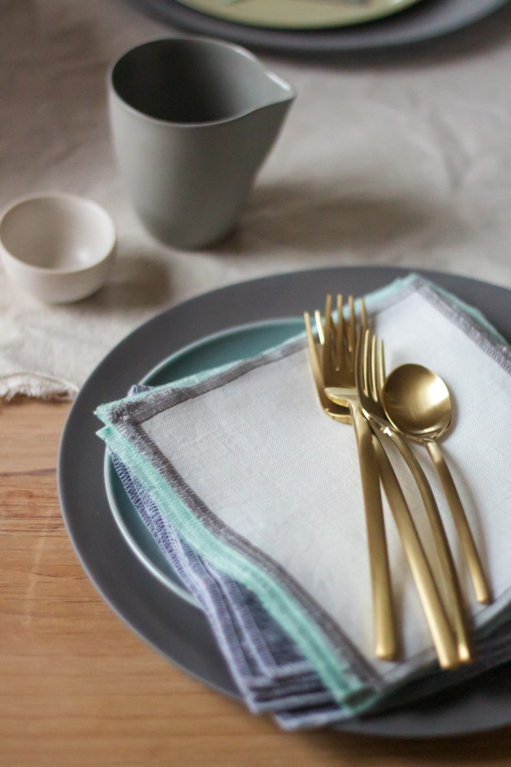 Lekker Home: Due Ice Oro flatware $115 for a five-piece set