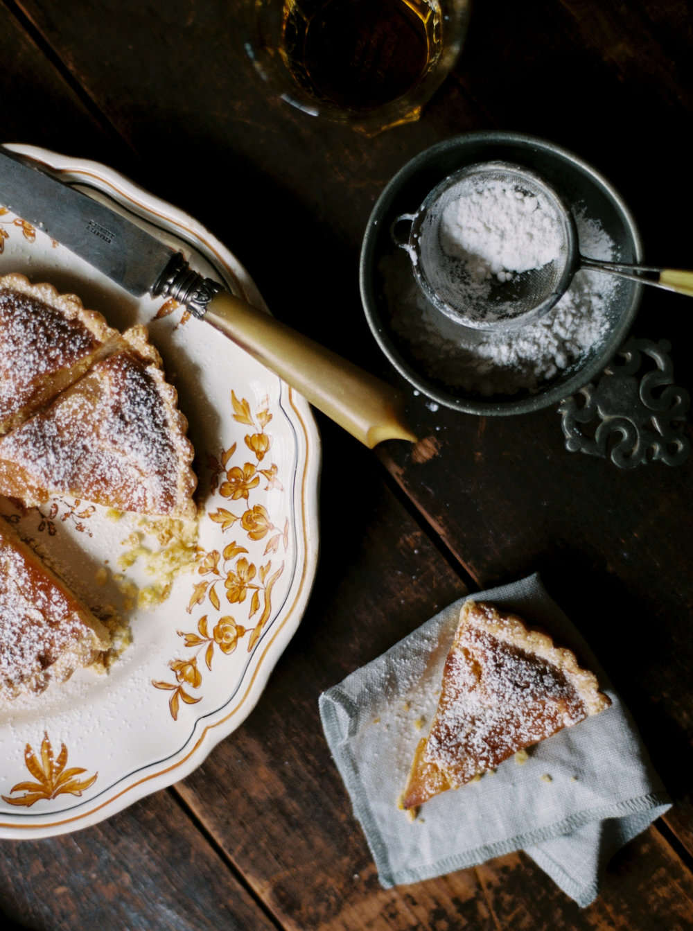 catrine-kelty-gabriella-uncommon-feasts-linen-napkin-fall-almond-tart-recipe-boston-everyday-co