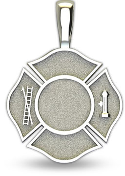 firefighter maltese cross front