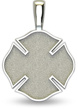 firefighter maltese cross back