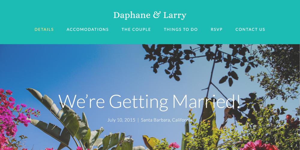 Daphane & Larry Wedding