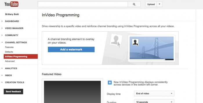 Learn how to set up InVideo Programming for your company youtube channel