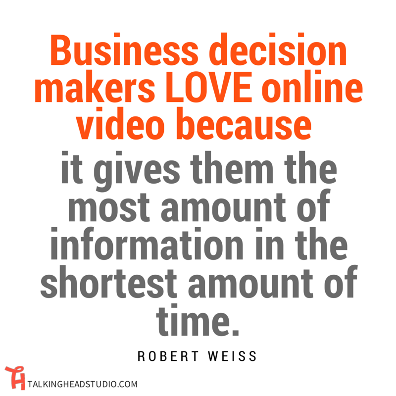 ONLINE VIDEO MARKETING Robert Weiss