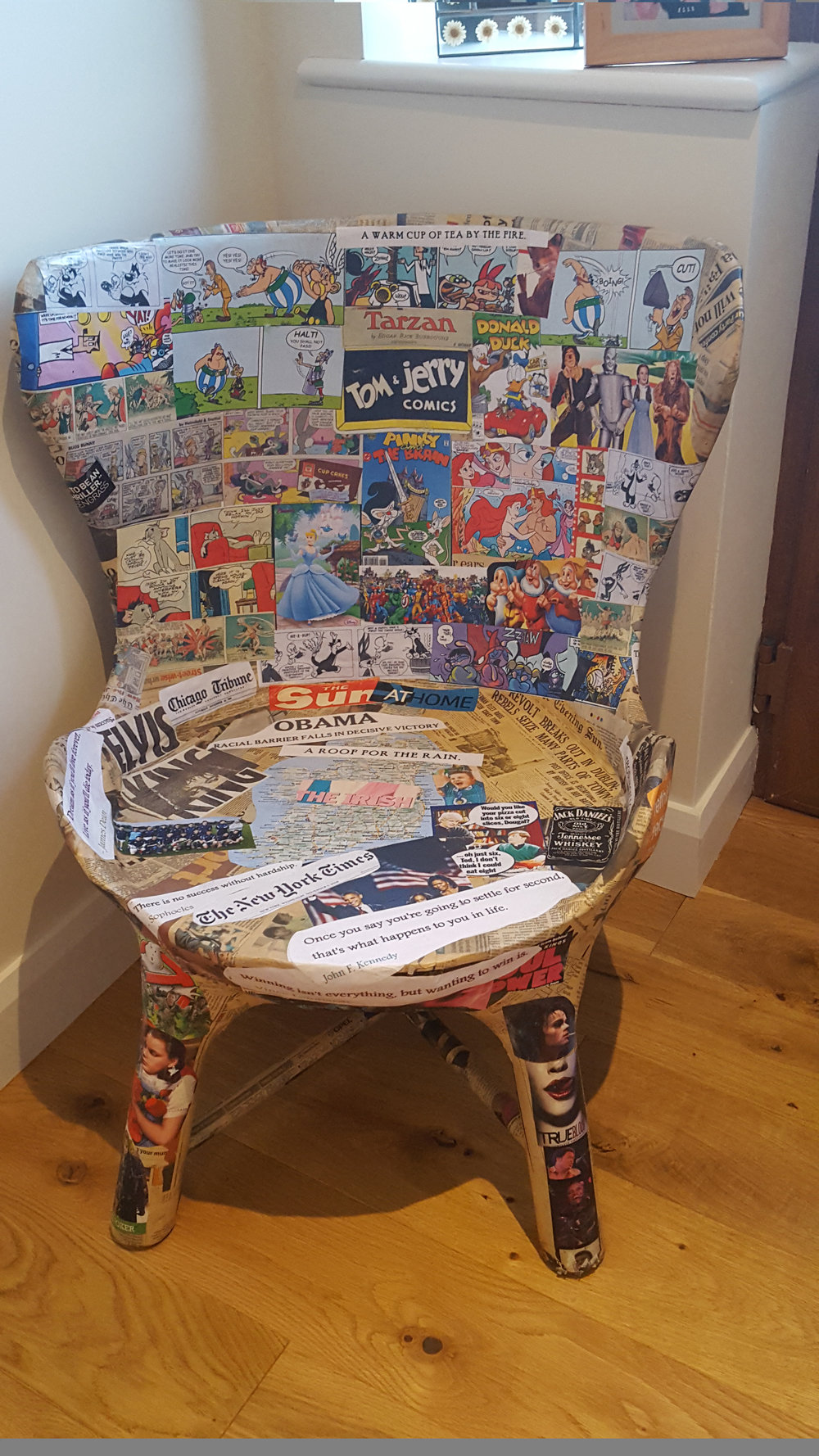 Review of The Storyteller paper chair