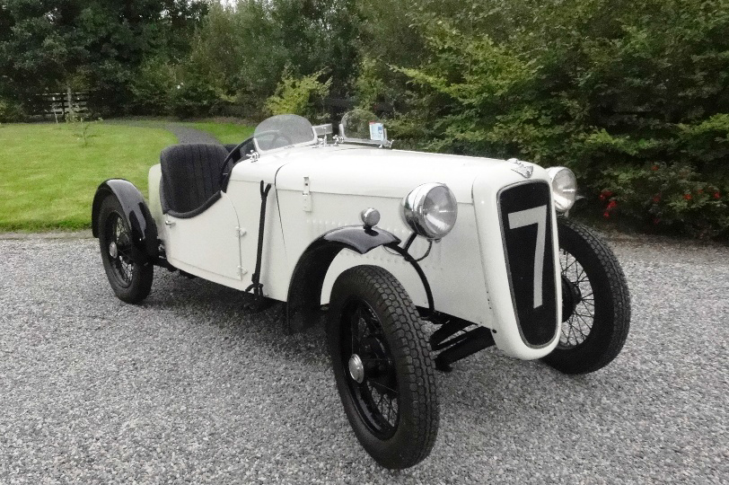 Austin 7 Special - Built by Anto Heneghan with help form son Paul