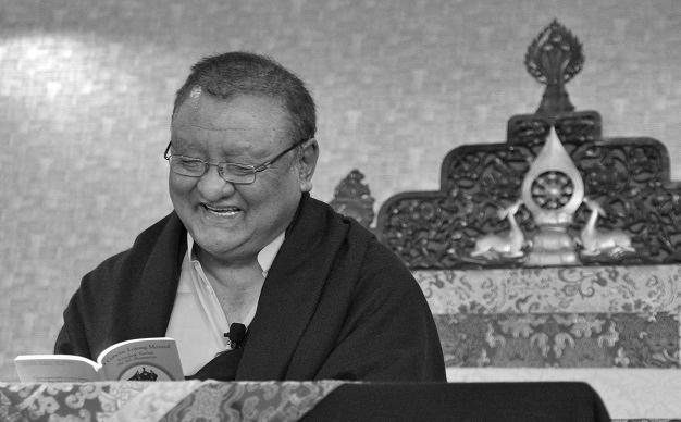 H.E. Shamar Rinpoche
