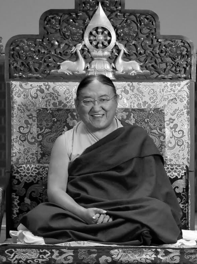 His Holiness Kyabgon Gongma Trichen Rinpoche