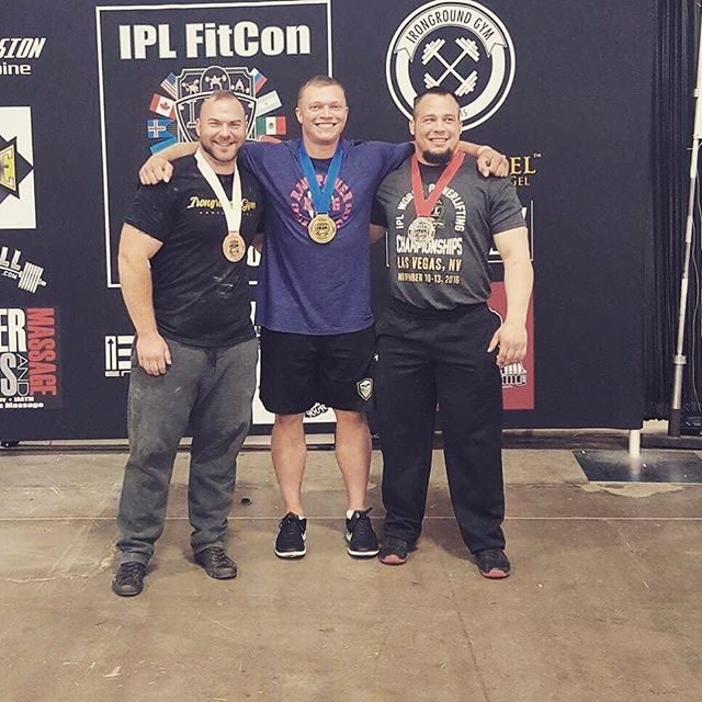 Congrats to @aa.ron.lifts  @fitconutah Results: 3rd Place. 589 squat. 396 bench. 678 deadlift. 👏🏽 #teamathleticedge