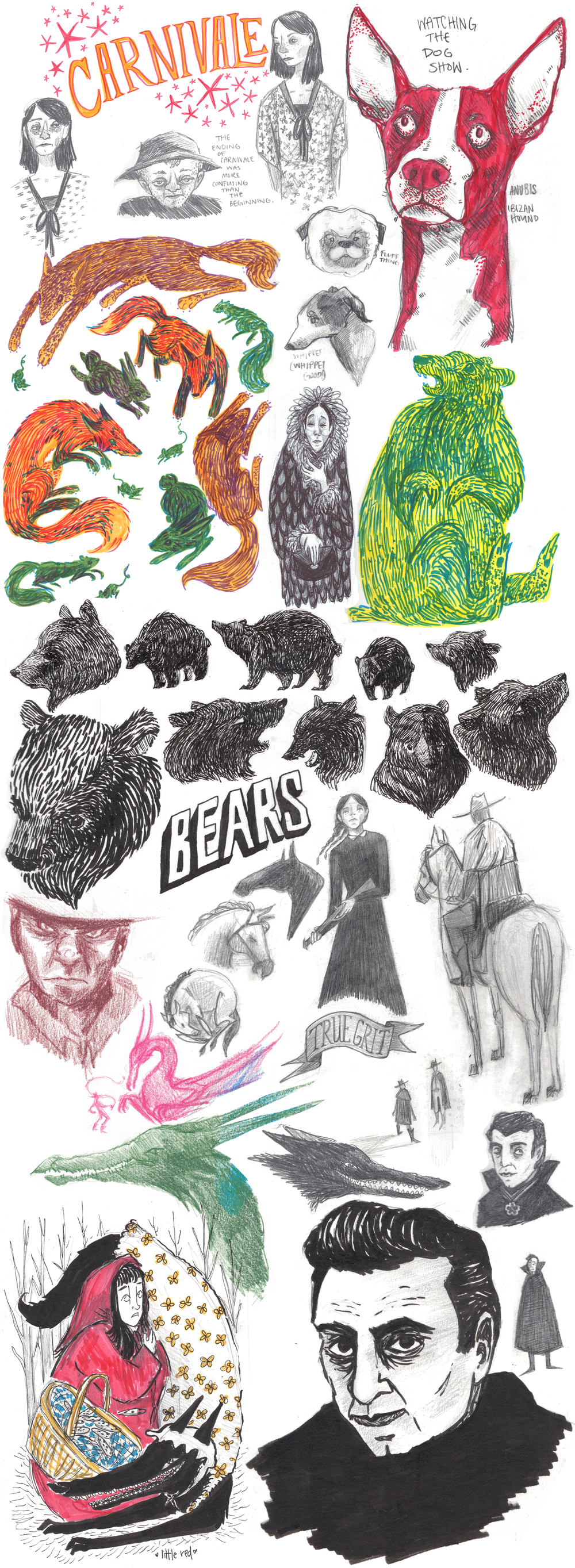 ellienorton_winterspring2014sketchbook