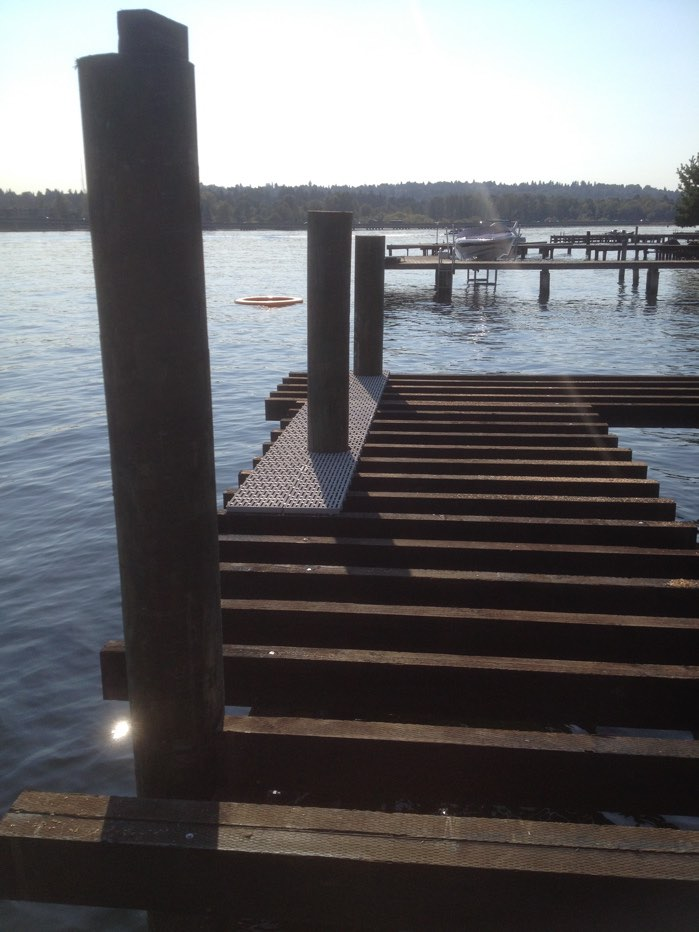 Dock is Coming Together