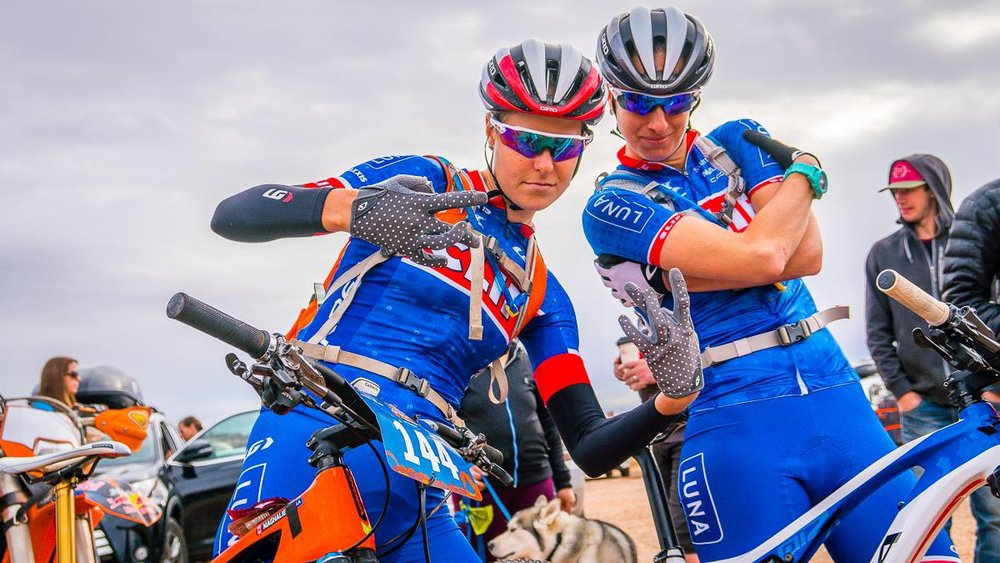 Photo by Kenny Wehn. Feeling like gangstas in our new Garneau kits. Maybe a new rap is in the making?