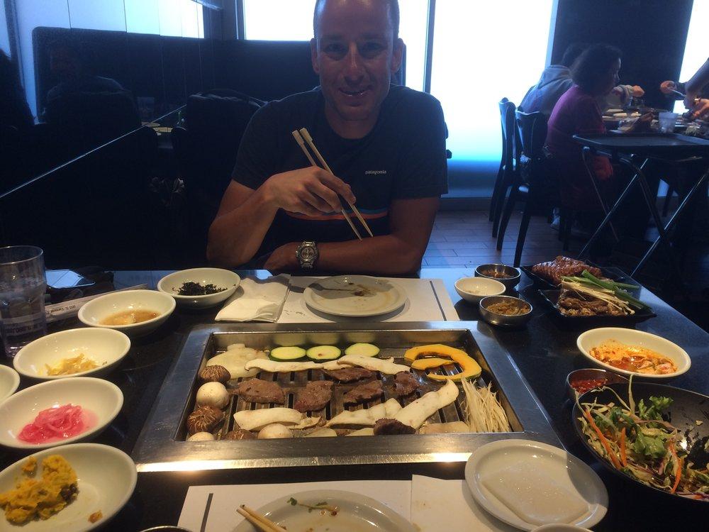 Korean BBQ - Suggestion of Anthony Bourdain!