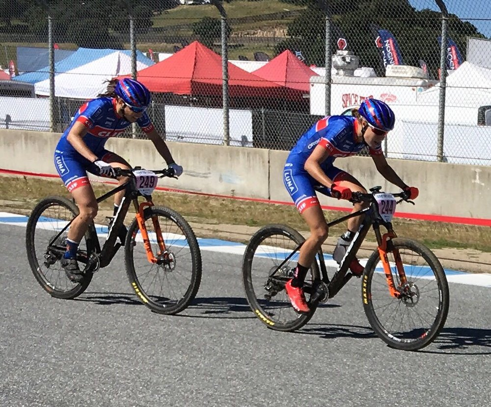 """Early on in Short track. Bridging a gap thinking """"maybe if I go really hard my legs will feel better"""" I did not happen."""