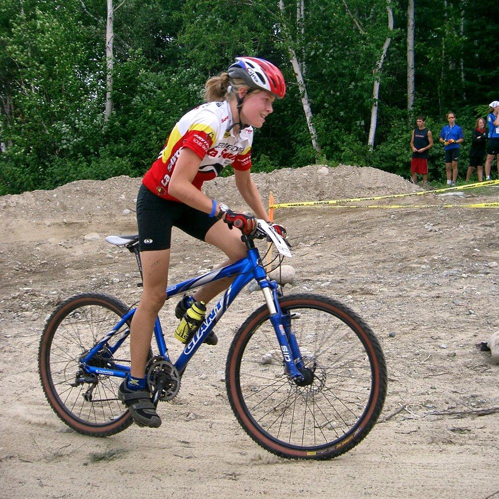 Aux Jeux Du Québec de Amos en 2005