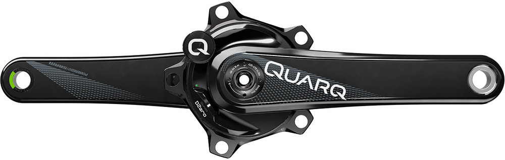 Quarq Power Meter - If you like performance, one of the best tool to measure your progress is a power meter. This one is great because it is accurate, light, ad very easy to calibrate.