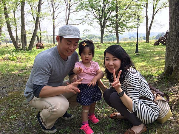 Takuya, Kaori, and Airi