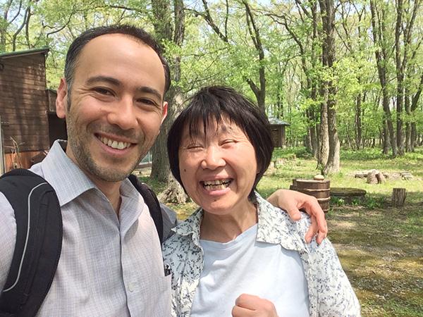 Paul and Izumi