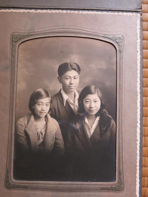 Arthur, Sono, and Aiko Kikuchi