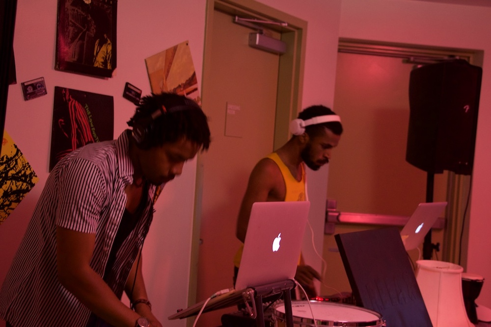 Live DJ sets by Lamar Stephens & Adam Rhodes