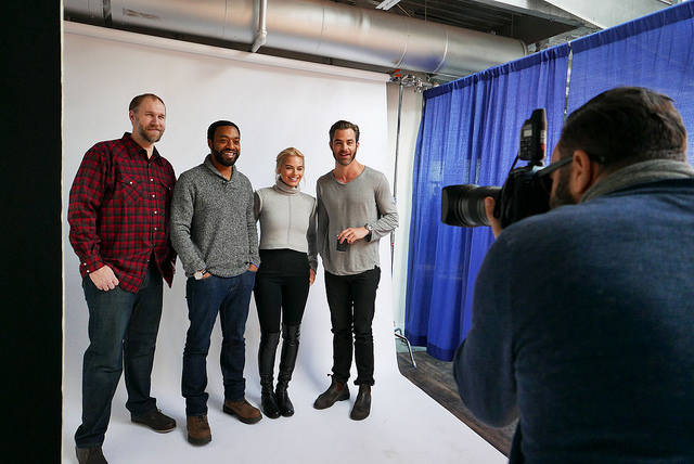 Cast and director of Z for Zachariah