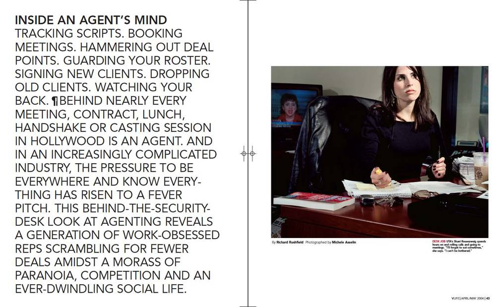 Inside the Mind of an Agent cover story