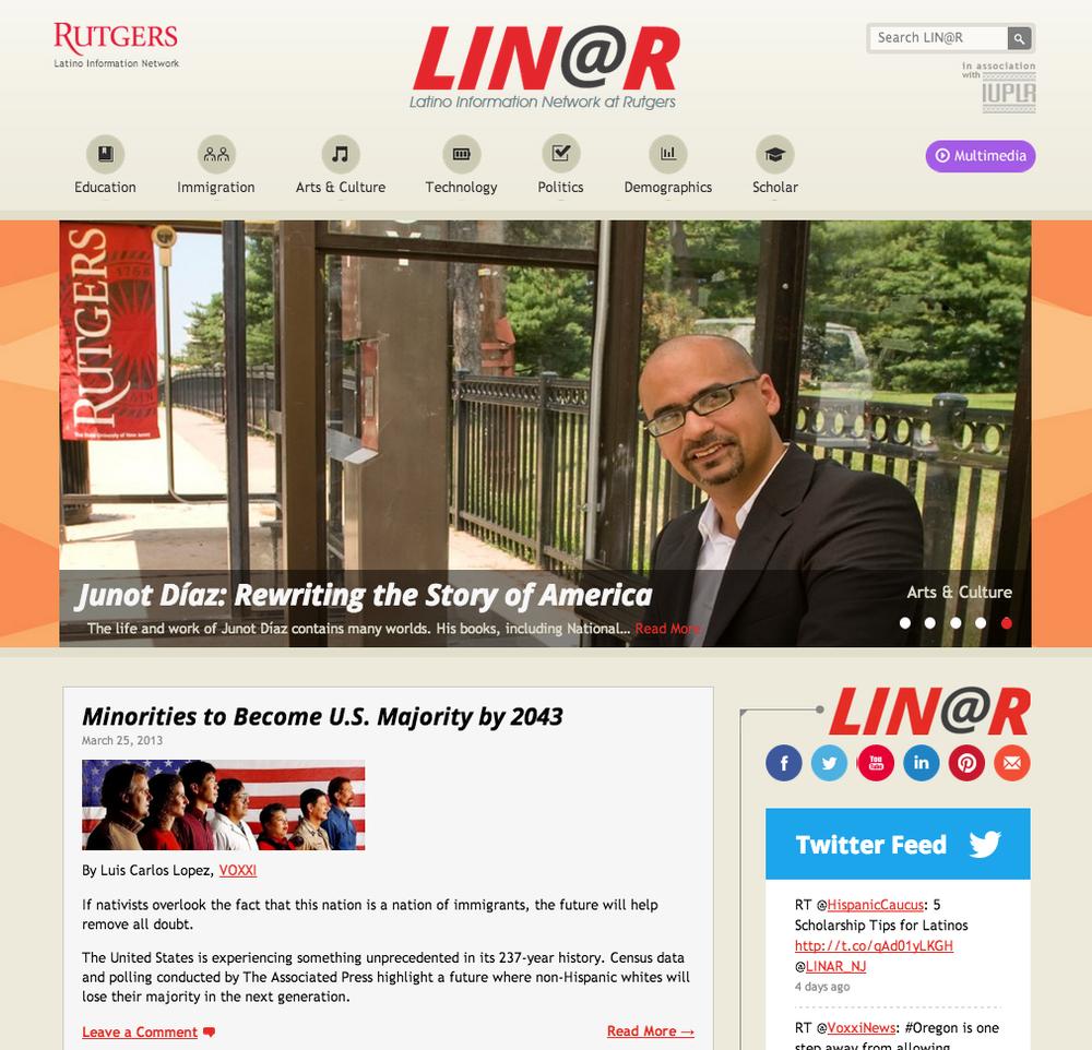 Latino Information Network @ Rutgers