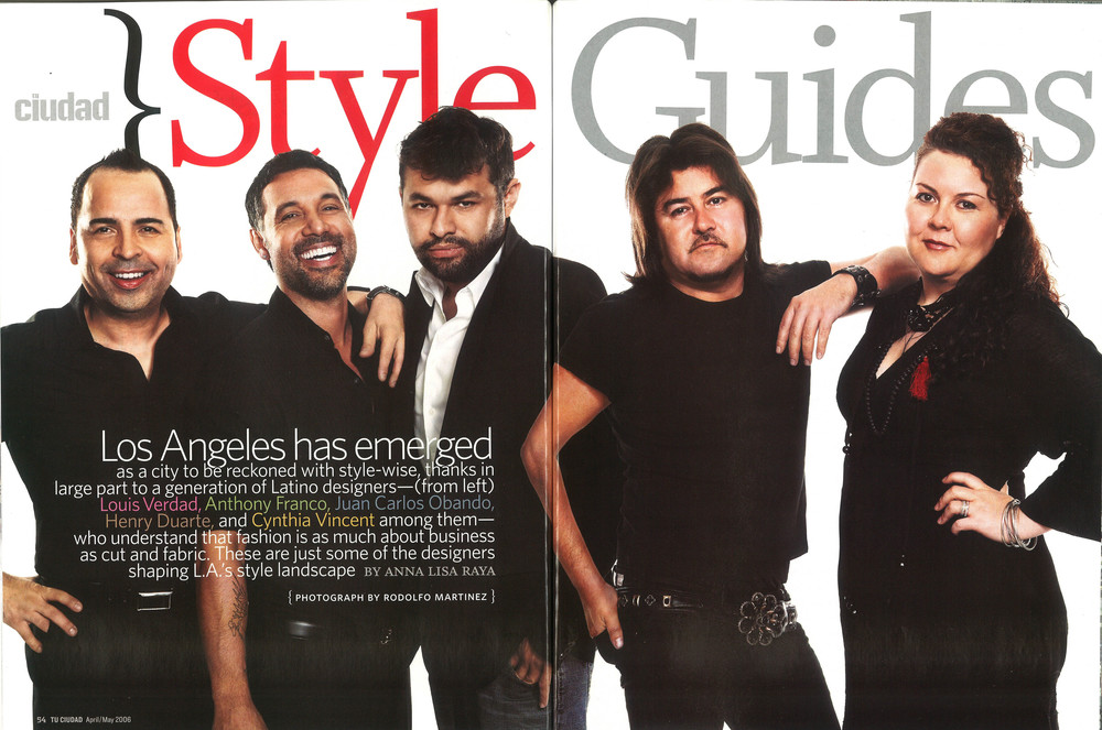 Latino L.A. designers feature story
