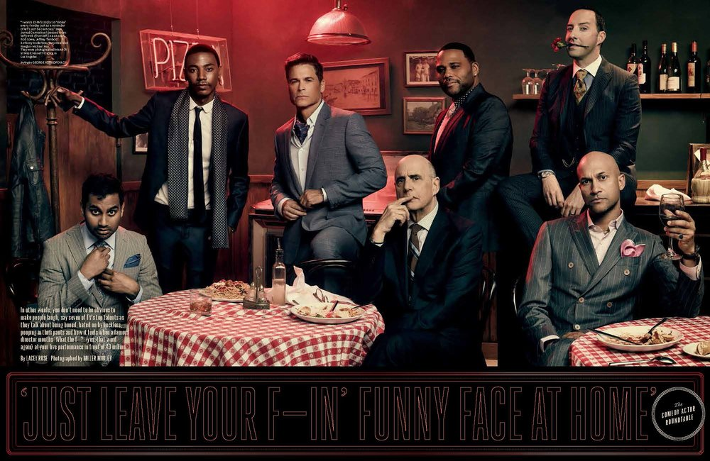 Comedy Actor Roundtable