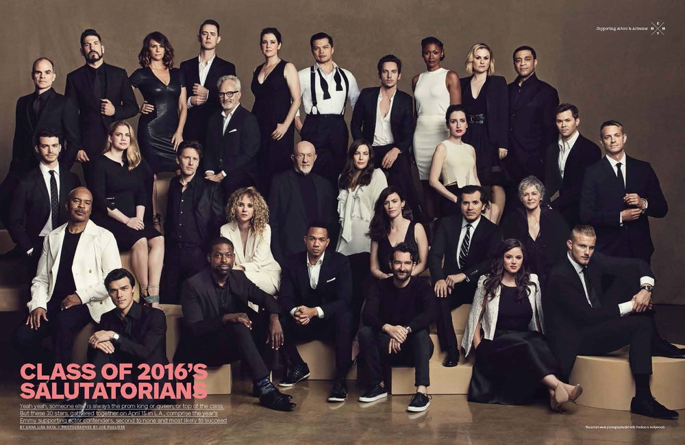 2016 Emmy Supporting Class Photo