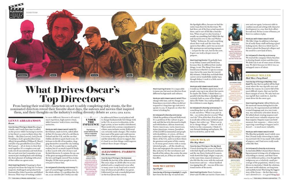 Oscars Directors Story
