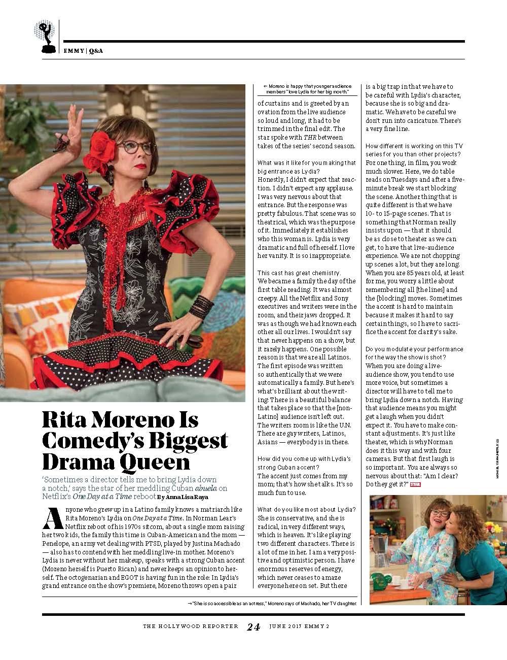 Rita Moreno Emmys Q&A