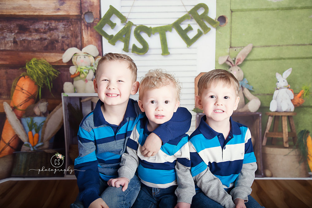 $65 fee includes: 15-20 minute session, online gallery with 15 images, you choose 10 full resolution downloads (may purchase more), print release. CHILDREN ONLY please. Only siblings may be photographed together. Cousins must schedule their own session.  Sessions will be held on March 17th from 1pm-4pm and will include the backdrop shown.  Session fee due at scheduling and is non-refundable. You may receive credit towards another limited edition mini session if cancellation is made at least 24 hours in advance. Online booking only.
