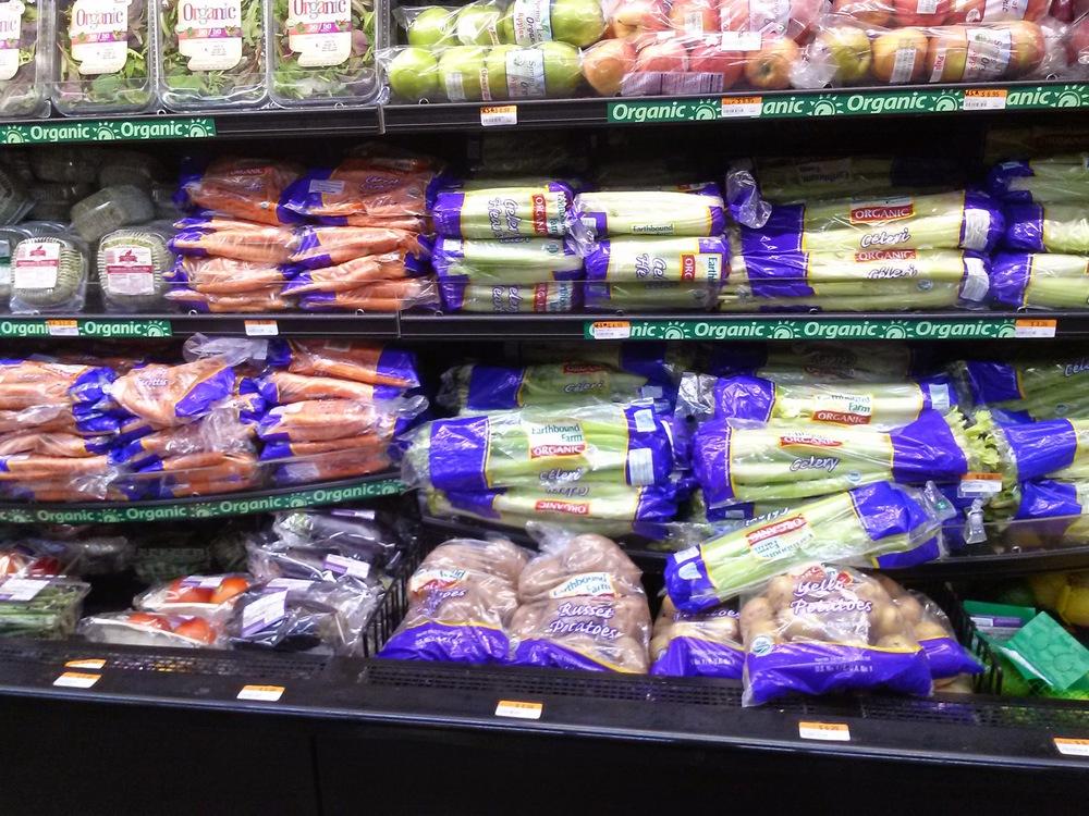 Organic foods found at Freshmart