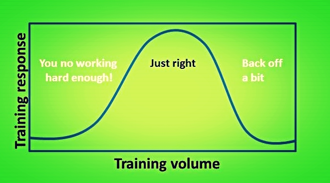 Several factors will affect your ability to adapt to exercise including stress levels, sleep, nutrition, genetics, and so forth but if you are not making progress with your training it likely indicates something is off with your training load. On the other hand if you are just constantly crushing yourself with high frequency training consisting of intense, voluminous sessions it will catch up to you over time and you wont be able to recover or experience burn out. If youre sticking to good exercise principles (see here) and making good progress, then all is well.