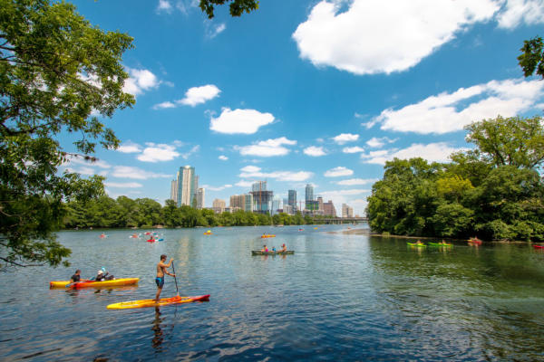 Lady Bird Lake. Credit Johannes Schneemann, courtesy of RootsRated.