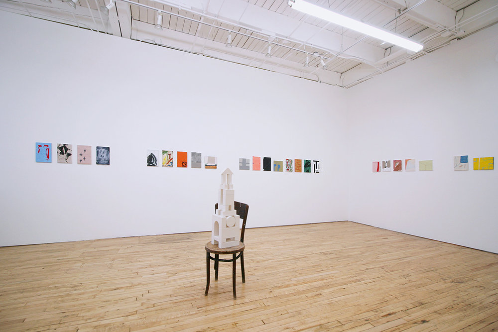 Installation view. Courtesy of Devening Projects and Editions.