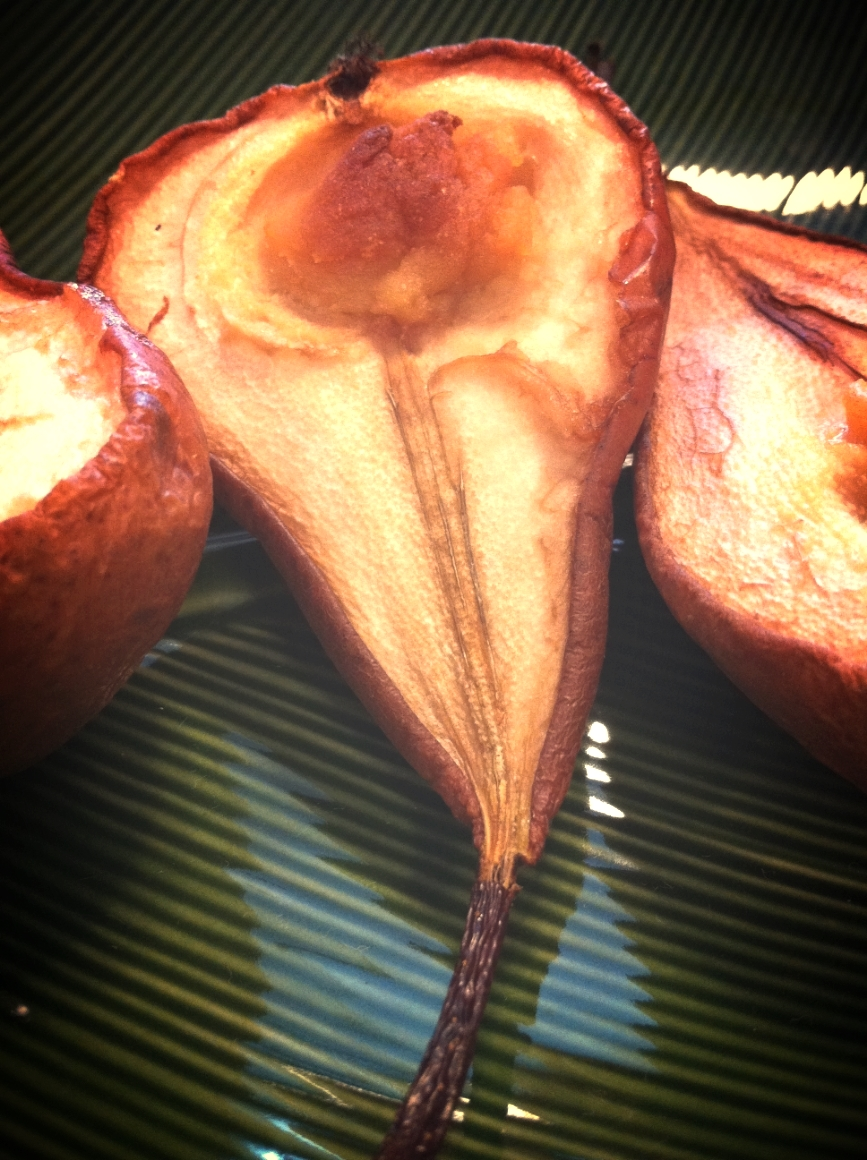 Baked pears with white miso - MAGICAL COMBINATIONS OF SALTY & SWEET