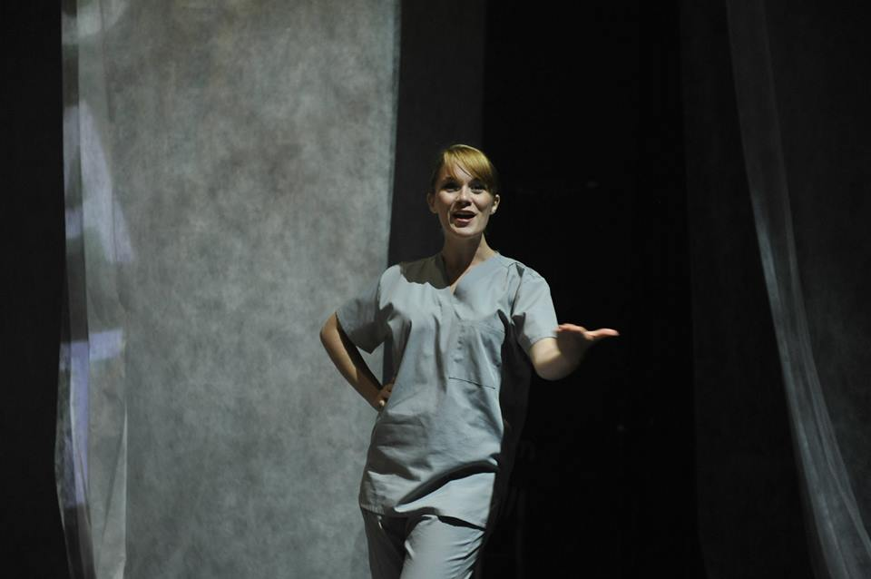 "Nicole in ""Baltimore Waltz"""
