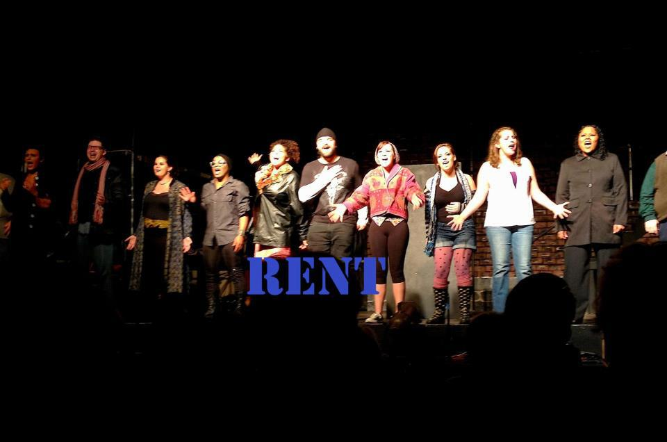 Cast in RENT