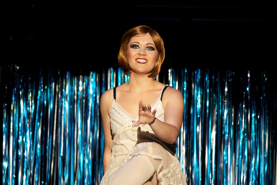 "Nicole as Roxie in ""Chicago"""