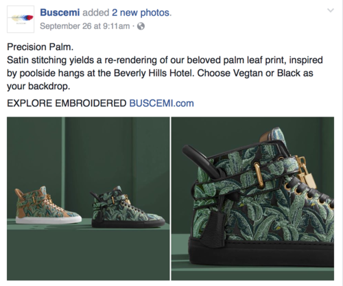 Buscemi on Facebook